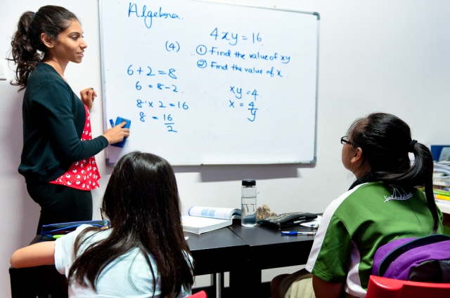 eduKate Singapore Tampines Tuition Centre Students in Tutorial Class 2 Secondary Mathematics