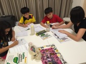 eduKateSG Mee Toh Primary Students at Punggol Prive Condo