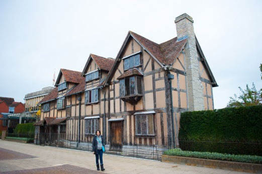 Tutor Yuet Ling in UK, Shakespeare's Birthplace
