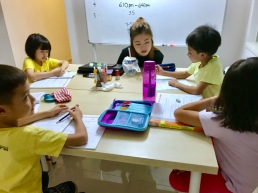 Tutor helps readily and students loves their tuition classes and classmates.