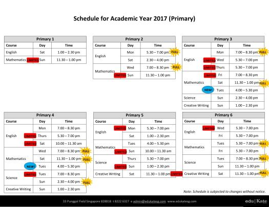 schedule-for-academic-year-2017-pri-updated