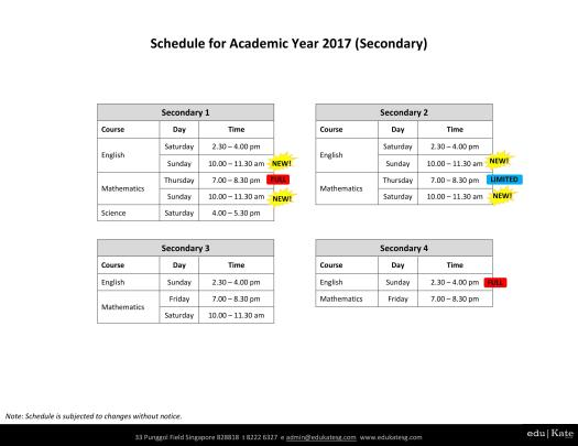 schedule-for-academic-year-2017-sec-updated