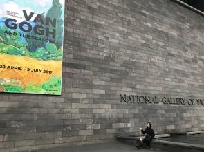 NGV, Australia. Van Gogh Exhibition