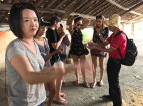 Edukate Tutors and Staff in Ho Chi Minh, Vietnam. Mekong River Tour.