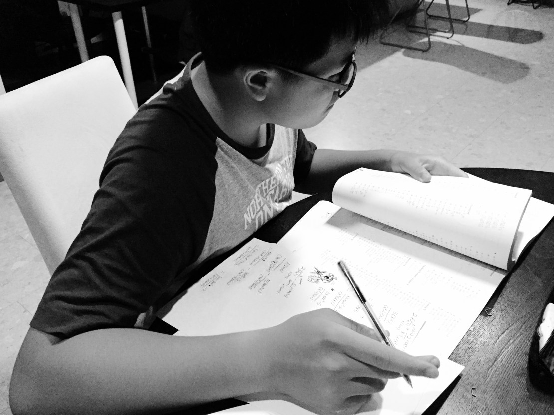 Yishun Secondary Maths Tuition Practice in img_7860-Yishun Mathematics Tuition Secondary English Math Science Small Group Tutor Singapore Tuition Centre for English Math Science PSLE GCE O levels IP IB IGCSE Small Group Tuition tutorial classes with Kin Leong. Small Group format.