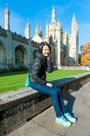 Tutor Yuet Ling in Cambridge University, King's College, UK.