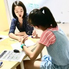 Our Punggol tutors checks every students work and guides them during one of our creative writing classes
