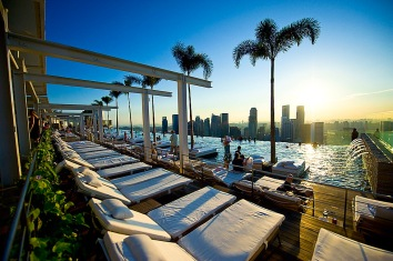 Infinity Pool, Marina Bay Sands, Singapore. Joint Photography project for Prime Minister's Office and STB by Yuet Ling