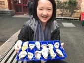 A dozen Oysters, Queen Victoria Market Melbourne, Australia