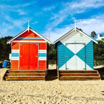 Brighton Beach Boxes, Australia.